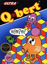 Q Bert NINTENDO NES Video Game