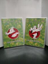 Ghostbusters + Ghostebusters 2 - Box Set (DVD) - No Slip Cover - Free Shipping!