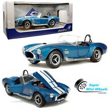 Solido 1:18 - 1965 Shelby AC Cobra 427 MKII (blue) - Diecast Model