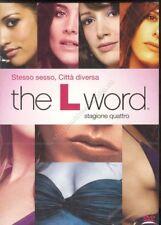 THE L WORD STAGIONE 4 - COFANETTO 4 DVD NUOVO!