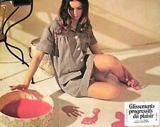 GLISSEMENTS PROGRESSIFS DU PLAISIR - Robbe-Grillet JEU 18 PHOTOS D'ÉPOQUE (1974)