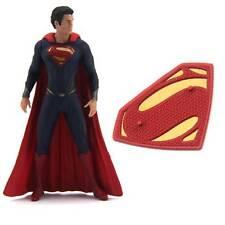 New  DC UNIVERSE COMICS SUPERMAN Super Man of Steel 4'' Figure & STAND FK288