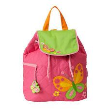NEW Quilted Butterfly Backpack Girls Kids Bag Childs Rucksack Stephen Joseph