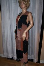 Animale Brand Women's Two Piece Vest and Wrap around Skirt Size S/M