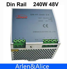 240W 48V Din Rail Single Output Switching power supply