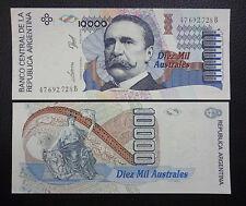 ARGENTINA BANKNOTE 10000 Australes, Pick 334a AU 1991- Series B