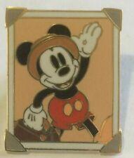 Pin 9348 2001 Disneyana Convention Survey Mickey Suitcase Tourist disney W