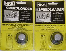 HKS 10-A Revolver Speedloader for S&W 10,12,13,14,15,19,64,66,67 Taurus 66 38 sp
