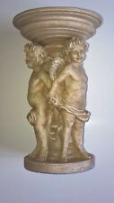 Candle Holder with Cherub Figurines