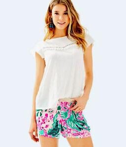 "Lilly Pulitzer NWT 5"" Rylan Shorts 🌺🍃 Via Flora $58"