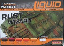 Lifecolor Acrylics LC-LP02 Liquid Pigment Rust Wizard  set