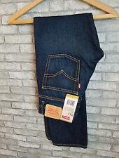 Jeans Boys Levis 511 Slim Fit Slightly Tapered Leg Dark Wash Size 28x28 16REG