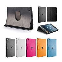 360° Drehbar Case iPad mini 1 2 3 Schutz Hülle Cover Etui Ständer Tasche Schwarz