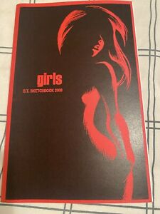 SDCC BRUCE TIMM 2009 GIRLS SKETCHBOOK SIGNED Harley Quinn /500 Auto Comic Con