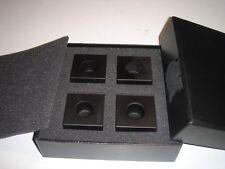 $175 ALEXANDER WANG Designer Candle Holder Set Black 910034 NEW