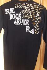 NEU-Rerock-4ever-T-Shirt Herren Print schwarz Disco Party Neu Gr. S