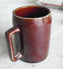"Vintage 1940s Stoneware Pottery Pabst Milwaukee Beer Mug Stein 4 3/8"" Tall"