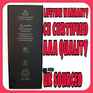 New Genuine Capacity Internal Replacement Battery for iPhone 6 1810mAh Tools UK