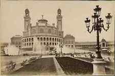 J. Kuhn, Paris, Le Trocadéro (Exposition Universelle de 1889) Vintage albumen pr