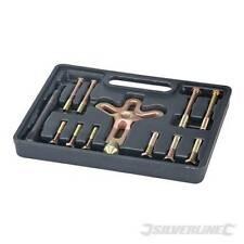 Heavy Duty Silverline Harmonic Balancer Gear Pulley Puller Kit 13 Piece Set Kit