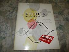 Wichita Clutches & Brakes catalog - Wichita Clutch Company 1960's?