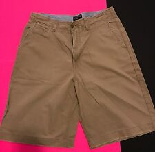 AMERICAN EAGLE MENS 2 PAIR LOT SIZE 32 CARGO SHORTS FLAT FRONT SHORTS