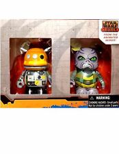 Disney Vinylmation Star Wars Series Rebels Chopper Droid Zeb 3 Figure Set Animat