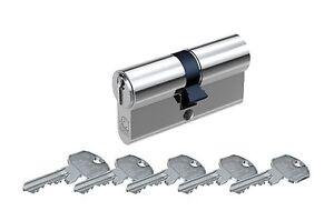 Kurzzylinder Schließzylinder Basi AS modus Schlüsselanzahl wählbar