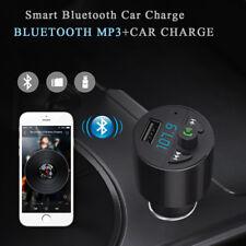 Bluetooth Inalámbrico Transmisor de FM Radio KIT COCHE MP3 Reproductor música &