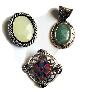 Carolyn Pollack Relios Sterling Silver Pendants