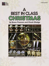 "A Best in Class Christmas FOR ""BASS CLARINET"" MUSIC BOOK-BRAND NEW ON SALE-BAND!"
