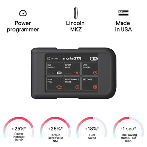 Lincoln MKZ smart chip tuning power programmer performance race tuner