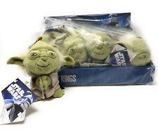 "Star Wars Yoda 4"" Plush Soft Toy Keyring Keychain NEW Wholesale lot of 12"