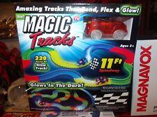 "Magic Tracks Mega Set 1 Car  220 Piece Glowing 11"""