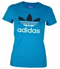 adidas Damen-T-Shirts mit Rundhals aus Baumwolle