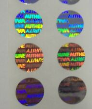 "5000 SVAG Custom Print Security Hologram Label Tamper Evident 5"" Sticker Seals"