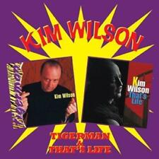 KIM WILSON - TIGERMAN & THAT'S LIFE 2CDs (NEW & SEALED) EX Fabulous Thunderbirds