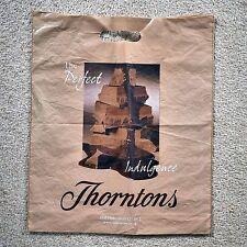 * Vintage Thorntons Chocolates plastic carrier bag 2 *