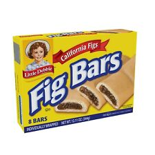 Little Debbie Fig Bars, Lot of 2, Free Shipping