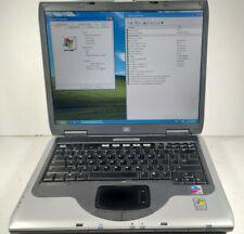 """HP Compaq NX9030 15"""" Pentium M 1.6 GHZ 1.25GB RAM 80GB HDD S-Video Win XP Pro"""