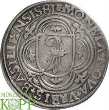 AA5633) Schweiz-Basel, Stadt Guldentaler zu 60 Kreuzer 1581
