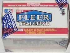 1999 Fleer Tradition MLB Update Complete 150-Card Boxed Set - Brand New & Sealed