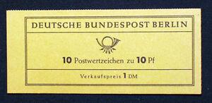 Berlin Nr. Markenheftchen , MH 3 b RLV II u 1 , Vergiss mein nicht .....**.... &