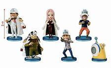 One Piece World Collectable Figure Navy 1 All set of 6 Akainu Django Hina 2017
