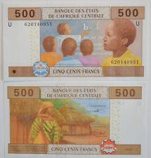 CENTRAL AFRICAN STATES / CAMEROUN 500 (U) Francs 2002 UNC (B12)