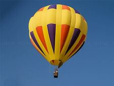 Composizione DI FOTOGRAFIA Giallo HOT AIR BALLOON battenti art print poster mp3470a