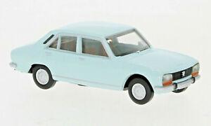 BREKINA 29117 Peugeot 504 Bleu Clair, 1961, Neuf 2021