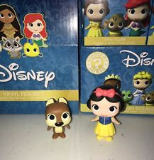 Disney Mystery Mini Vinyl Figures FUNKO Sidekicks Snow White & Chipmunk RARE!