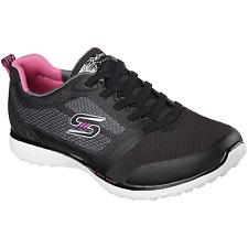 Skechers Women's Spirited Sneaker Black / White Size 7.5 #NG4EC-129
