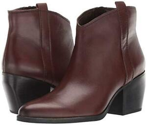 Naturalizer Womens Fairmont Leather Ankle Booties SIZE 7M